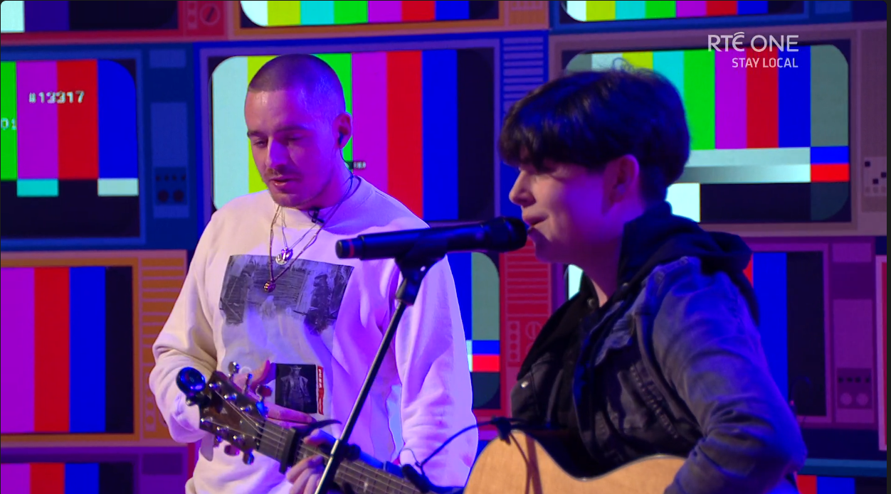 Dermot Kennedy on the Late Late Toy Show
