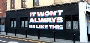 Inhaler It Won't Always Be Like This Mural Dublin